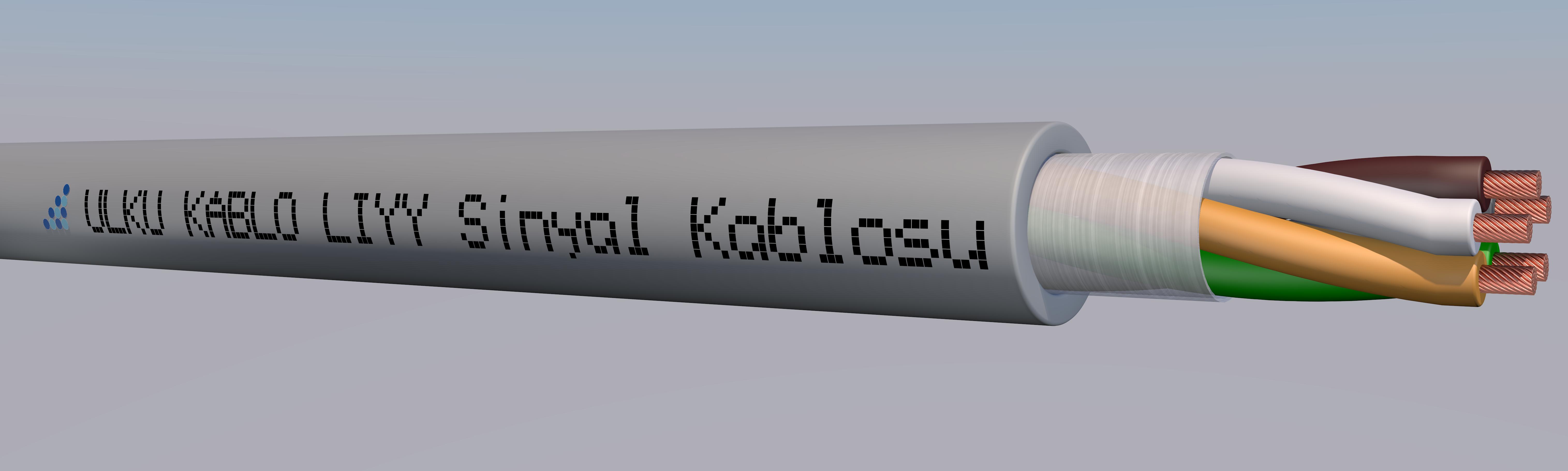Ülkü Kablo LIYY 5x0,22mm²