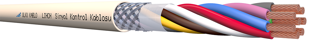 Ülkü Kablo LIHCH 8x0,22mm²