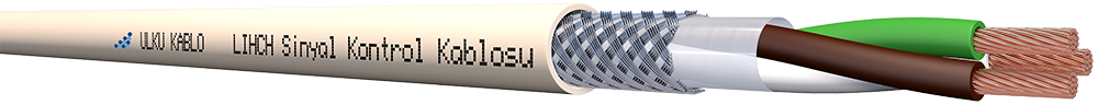 Ülkü Kablo LIHCH 3x1,00mm²
