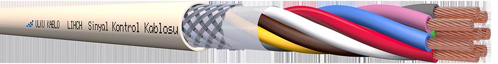 Ülkü Kablo LIHCH 8x0,50mm²