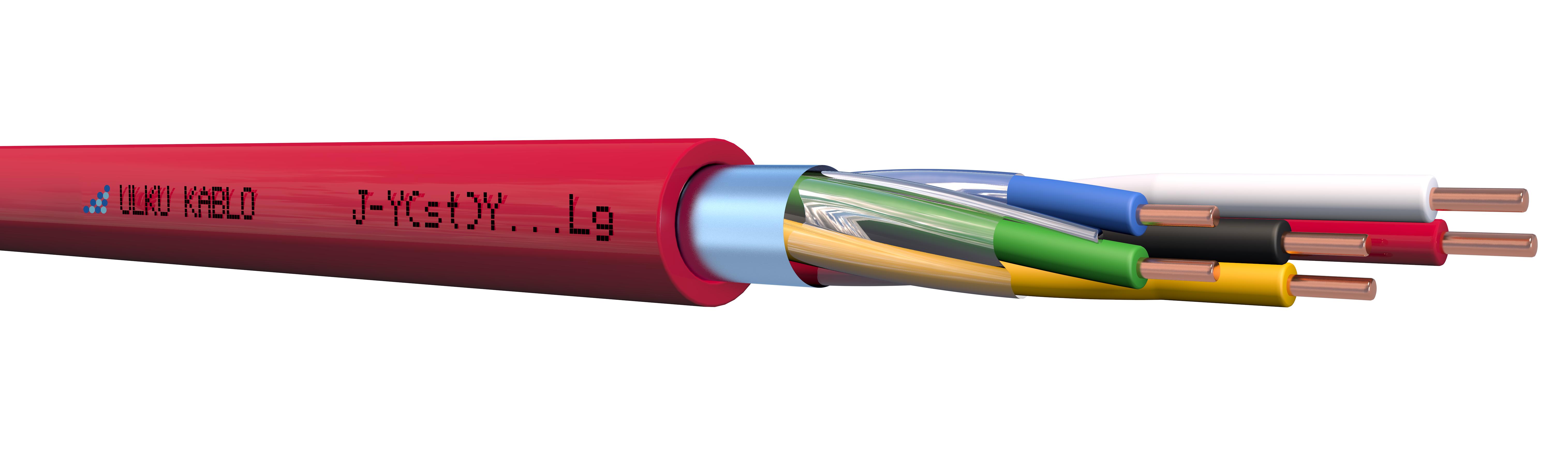 Ülkü Kablo J-Y(St)Y...Lg 3x2x1mm+0,60mm