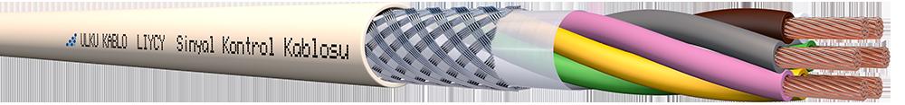 Ülkü Kablo LIYCY 6x0,75mm²