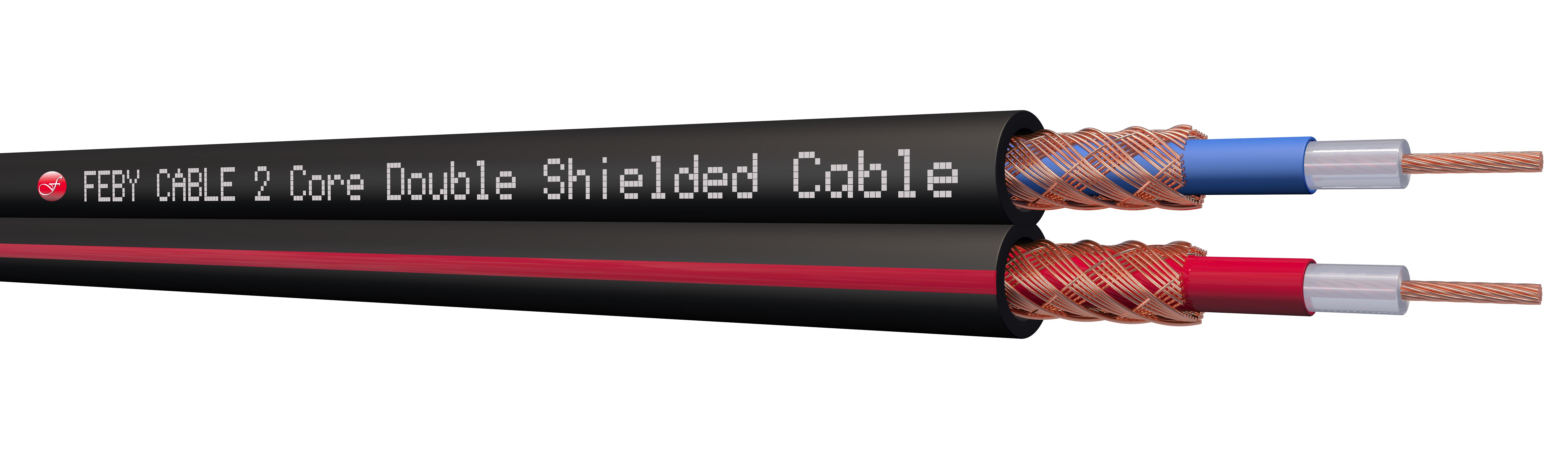 Ülkü Kablo Ekstra Bitişik Blendajlı Kablo (2x0,22mm²)