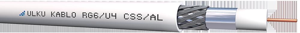 Ülkü Kablo RG 6/U-4 (CSS/AL) EXTRA SHIELD