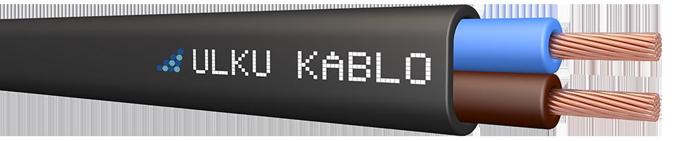 Ülkü Kablo 2 x 1,00 mm²