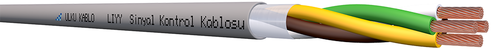 Ülkü Kablo LIYY 4x1,50mm²