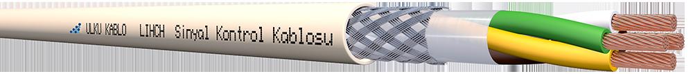 Ülkü Kablo LIHCH 4x1,00mm²