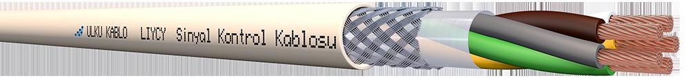 Ülkü Kablo LIYCY 5x1,00mm²