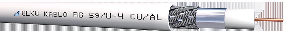 Ülkü Kablo RG 59/U-4 (CU/AL)