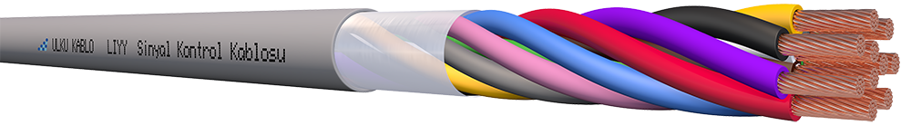 Ülkü Kablo LIYY 10x0,75mm²