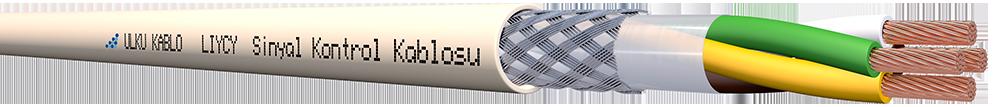 Ülkü Kablo LIYCY 4x0,75mm²