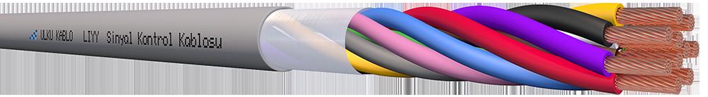 Ülkü Kablo LIYY 10x0,50mm²
