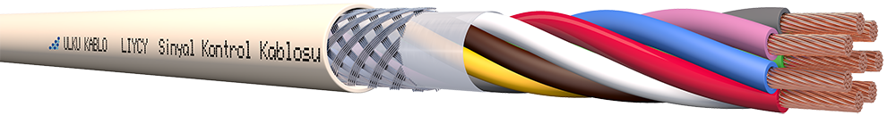 Ülkü Kablo LIYCY 8x0,75mm²