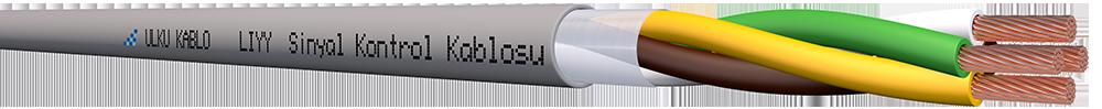 Ülkü Kablo LIYY 4x1,00mm²